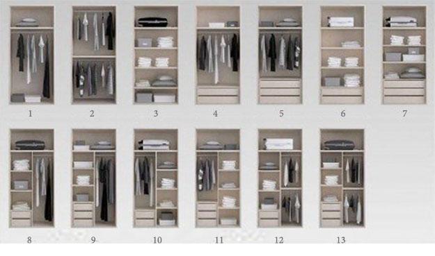 módulos para vestidores y armarios a medida