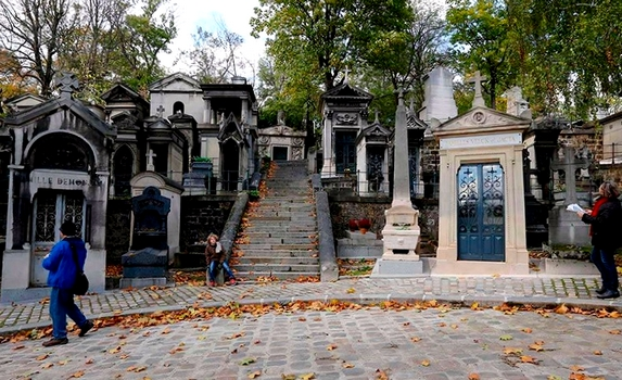 Pere Lachaise cementerio Paris