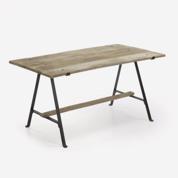 mesas de comedor de madera de roble