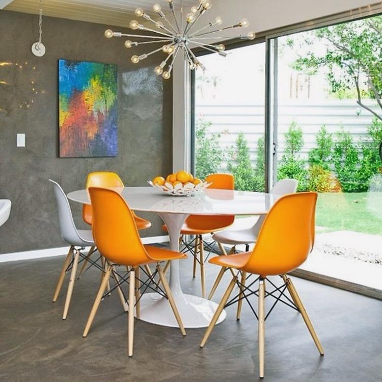 modelos de mesas redondas para comedor